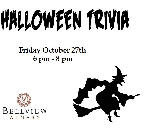 Halloween Trivia Night - Bellview Winery